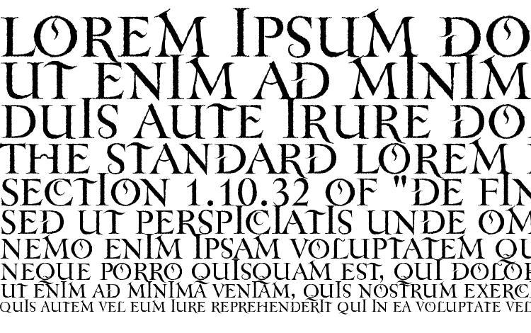 specimens TenebraOldFace font, sample TenebraOldFace font, an example of writing TenebraOldFace font, review TenebraOldFace font, preview TenebraOldFace font, TenebraOldFace font