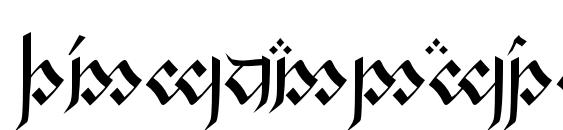 Шрифт Tengwandagothic