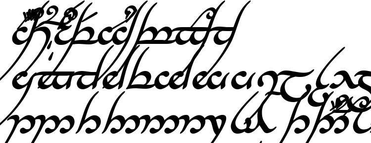 глифы шрифта Tengwar annatar bold italic, символы шрифта Tengwar annatar bold italic, символьная карта шрифта Tengwar annatar bold italic, предварительный просмотр шрифта Tengwar annatar bold italic, алфавит шрифта Tengwar annatar bold italic, шрифт Tengwar annatar bold italic
