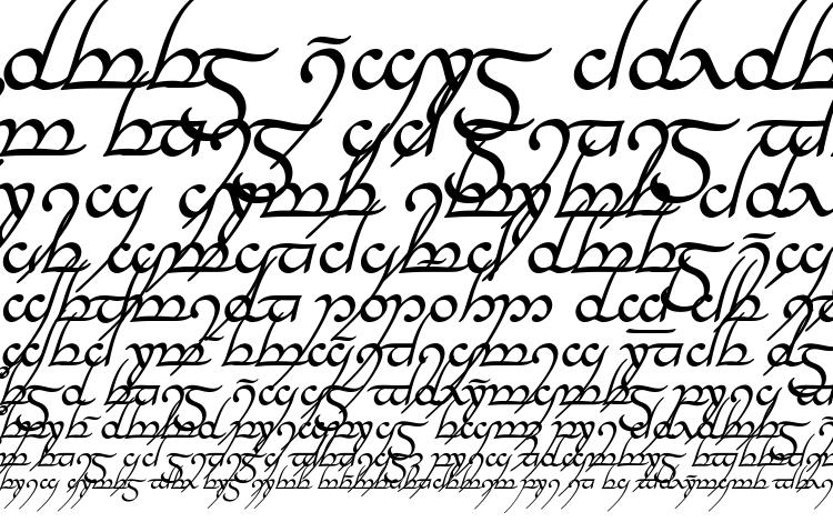 specimens Tengwar annatar italic font, sample Tengwar annatar italic font, an example of writing Tengwar annatar italic font, review Tengwar annatar italic font, preview Tengwar annatar italic font, Tengwar annatar italic font