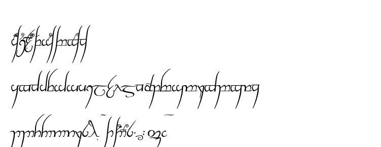 glyphs Tengwar cursive font, сharacters Tengwar cursive font, symbols Tengwar cursive font, character map Tengwar cursive font, preview Tengwar cursive font, abc Tengwar cursive font, Tengwar cursive font