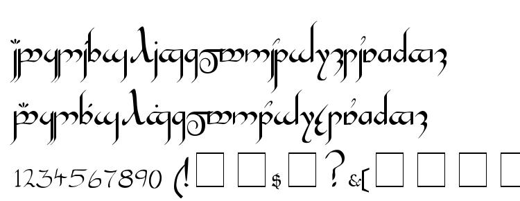 glyphs Tengwar Gandalf Medium font, сharacters Tengwar Gandalf Medium font, symbols Tengwar Gandalf Medium font, character map Tengwar Gandalf Medium font, preview Tengwar Gandalf Medium font, abc Tengwar Gandalf Medium font, Tengwar Gandalf Medium font