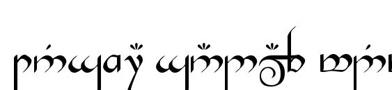 Tengwar Gandalf Medium Font