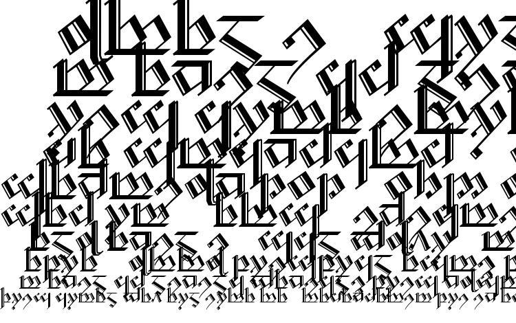 specimens Tengwar Noldor 2 font, sample Tengwar Noldor 2 font, an example of writing Tengwar Noldor 2 font, review Tengwar Noldor 2 font, preview Tengwar Noldor 2 font, Tengwar Noldor 2 font