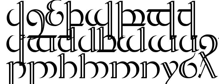 глифы шрифта Tengwar Quenya 2, символы шрифта Tengwar Quenya 2, символьная карта шрифта Tengwar Quenya 2, предварительный просмотр шрифта Tengwar Quenya 2, алфавит шрифта Tengwar Quenya 2, шрифт Tengwar Quenya 2