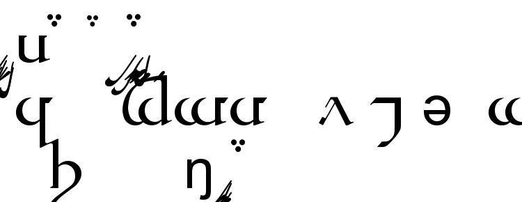 глифы шрифта Tengwar Quenya A, символы шрифта Tengwar Quenya A, символьная карта шрифта Tengwar Quenya A, предварительный просмотр шрифта Tengwar Quenya A, алфавит шрифта Tengwar Quenya A, шрифт Tengwar Quenya A