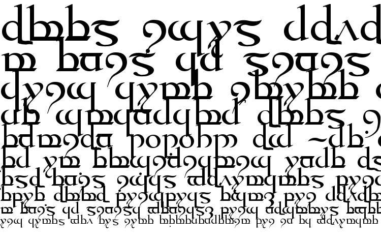 specimens Tengwar quenya medium font, sample Tengwar quenya medium font, an example of writing Tengwar quenya medium font, review Tengwar quenya medium font, preview Tengwar quenya medium font, Tengwar quenya medium font