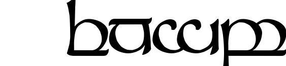 Шрифт Tengwar Sindarin 1