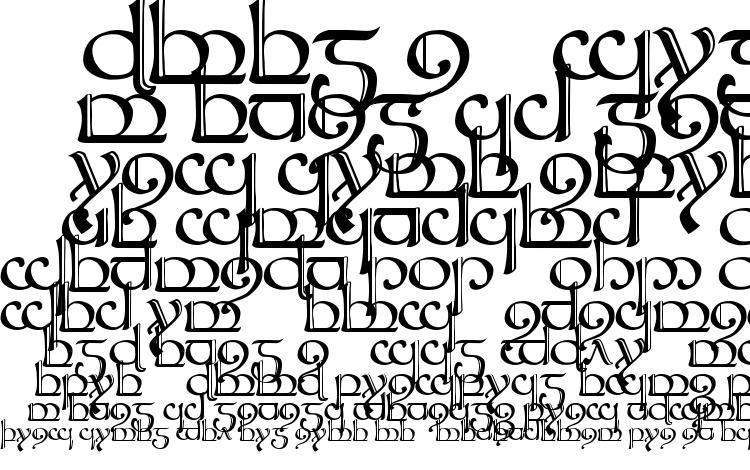 Tengwar Sindarin 2 Font Download Free Legionfonts