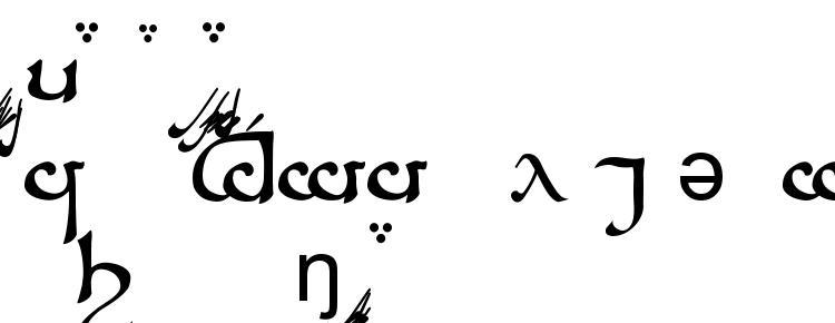 глифы шрифта Tengwar Sindarin A, символы шрифта Tengwar Sindarin A, символьная карта шрифта Tengwar Sindarin A, предварительный просмотр шрифта Tengwar Sindarin A, алфавит шрифта Tengwar Sindarin A, шрифт Tengwar Sindarin A