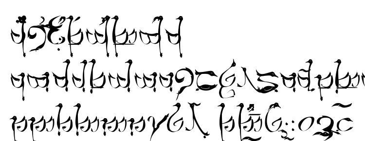 глифы шрифта Tengwar teleri, символы шрифта Tengwar teleri, символьная карта шрифта Tengwar teleri, предварительный просмотр шрифта Tengwar teleri, алфавит шрифта Tengwar teleri, шрифт Tengwar teleri