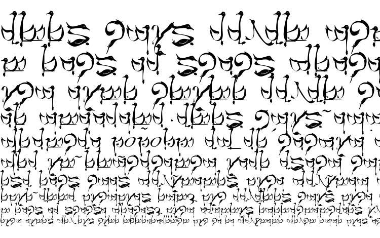 образцы шрифта Tengwar teleri, образец шрифта Tengwar teleri, пример написания шрифта Tengwar teleri, просмотр шрифта Tengwar teleri, предосмотр шрифта Tengwar teleri, шрифт Tengwar teleri