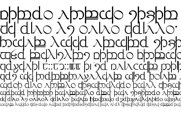specimens Tengwar ver. # 3 font, sample Tengwar ver. # 3 font, an example of writing Tengwar ver. # 3 font, review Tengwar ver. # 3 font, preview Tengwar ver. # 3 font, Tengwar ver. # 3 font