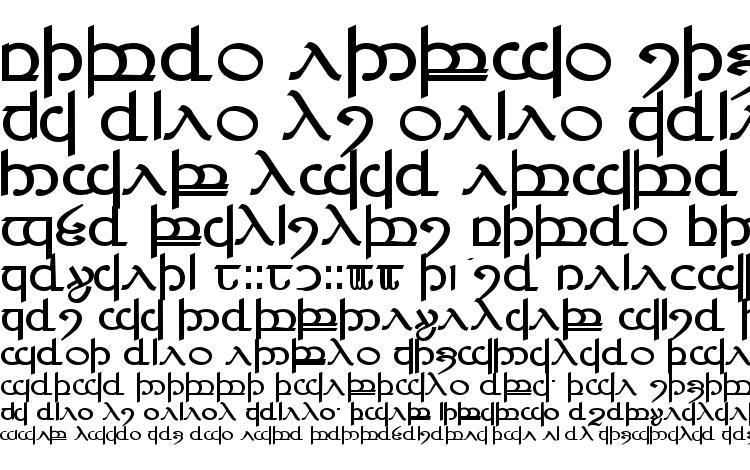 образцы шрифта Tengwar ver. # 4, образец шрифта Tengwar ver. # 4, пример написания шрифта Tengwar ver. # 4, просмотр шрифта Tengwar ver. # 4, предосмотр шрифта Tengwar ver. # 4, шрифт Tengwar ver. # 4