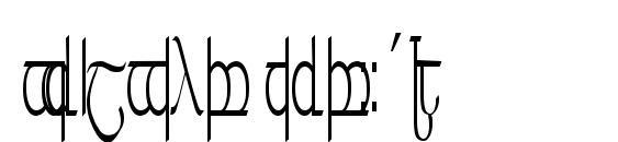 Шрифт Tengwar ver. # 5