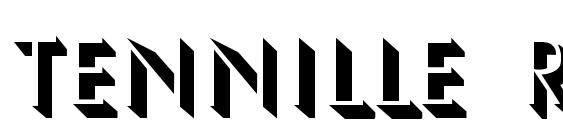 Шрифт TENNILLE Regular