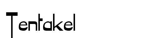 Шрифт Tentakel