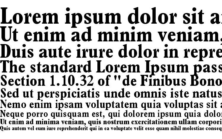 Terminus Black Condensed SSi Bold Condensed Font Download