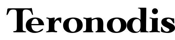 шрифт Teronodisplayssk, бесплатный шрифт Teronodisplayssk, предварительный просмотр шрифта Teronodisplayssk