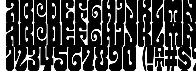 glyphs Terpsichora font, сharacters Terpsichora font, symbols Terpsichora font, character map Terpsichora font, preview Terpsichora font, abc Terpsichora font, Terpsichora font