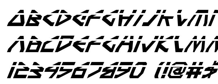 глифы шрифта Terra Firma Laser Italic, символы шрифта Terra Firma Laser Italic, символьная карта шрифта Terra Firma Laser Italic, предварительный просмотр шрифта Terra Firma Laser Italic, алфавит шрифта Terra Firma Laser Italic, шрифт Terra Firma Laser Italic