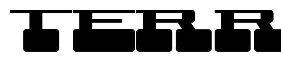 Шрифт Terra X