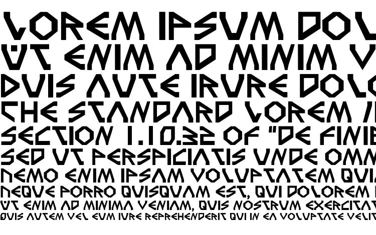 specimens Terra3 font, sample Terra3 font, an example of writing Terra3 font, review Terra3 font, preview Terra3 font, Terra3 font
