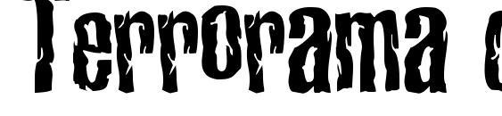Terrorama chiseled Font