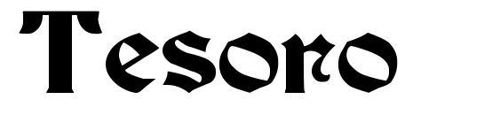Шрифт Tesoro