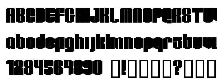 глифы шрифта Test1, символы шрифта Test1, символьная карта шрифта Test1, предварительный просмотр шрифта Test1, алфавит шрифта Test1, шрифт Test1