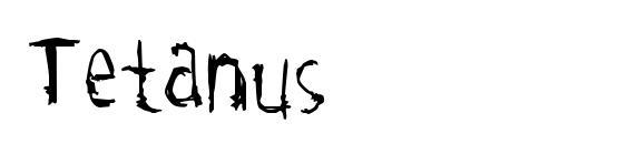 Шрифт Tetanus