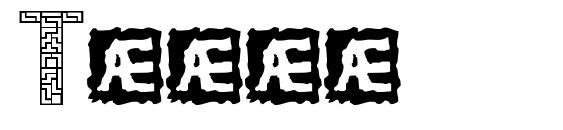 Шрифт Tetri
