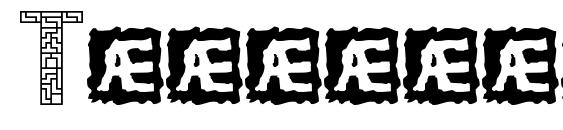 Шрифт Tetricide BRK