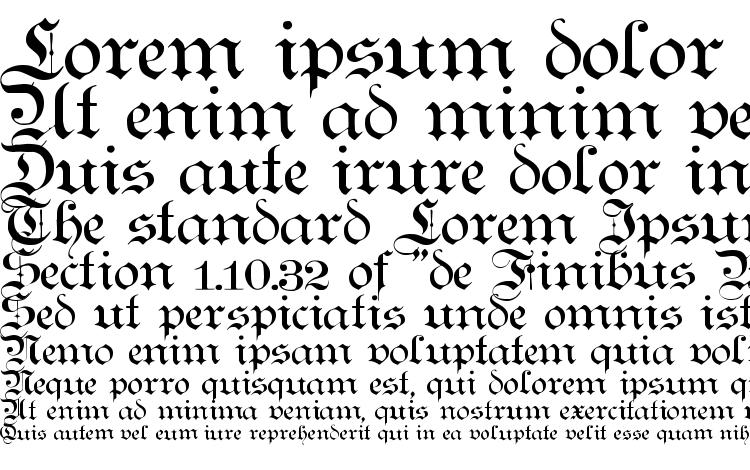 specimens Teutonic No1 DemiBold font, sample Teutonic No1 DemiBold font, an example of writing Teutonic No1 DemiBold font, review Teutonic No1 DemiBold font, preview Teutonic No1 DemiBold font, Teutonic No1 DemiBold font