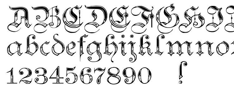 glyphs Teutonic No4 DemiBold font, сharacters Teutonic No4 DemiBold font, symbols Teutonic No4 DemiBold font, character map Teutonic No4 DemiBold font, preview Teutonic No4 DemiBold font, abc Teutonic No4 DemiBold font, Teutonic No4 DemiBold font