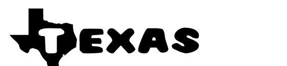 Texas Font