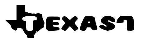 Texas7 Font