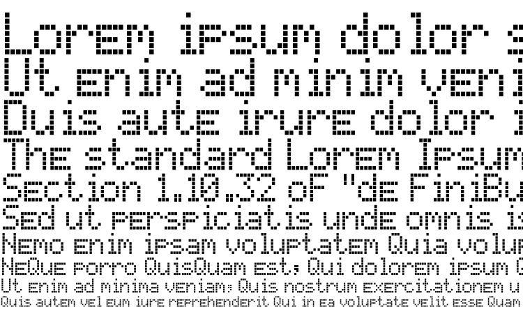 specimens Texasled font, sample Texasled font, an example of writing Texasled font, review Texasled font, preview Texasled font, Texasled font