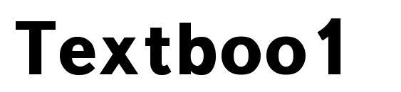 Шрифт Textboo1