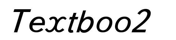 Textboo2 Font