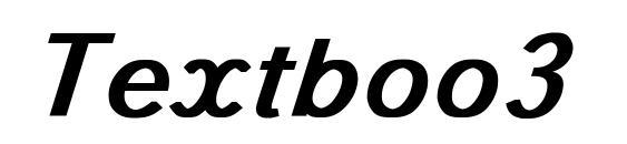 Textboo3 Font