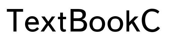 Шрифт TextBookC