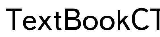 TextBookCTT Font