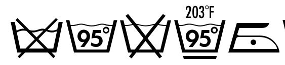 шрифт Textile LH Pi Two, бесплатный шрифт Textile LH Pi Two, предварительный просмотр шрифта Textile LH Pi Two