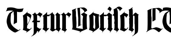 Шрифт TexturGotisch LT DFR