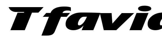 Tfavian Font