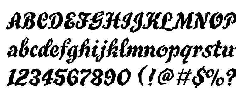 глифы шрифта Tgt76 c, символы шрифта Tgt76 c, символьная карта шрифта Tgt76 c, предварительный просмотр шрифта Tgt76 c, алфавит шрифта Tgt76 c, шрифт Tgt76 c