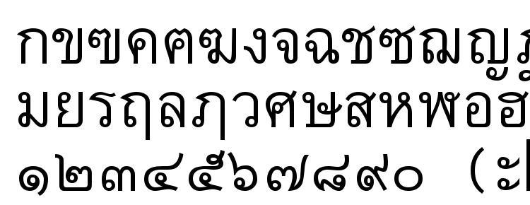 глифы шрифта Thai7bangkokssk, символы шрифта Thai7bangkokssk, символьная карта шрифта Thai7bangkokssk, предварительный просмотр шрифта Thai7bangkokssk, алфавит шрифта Thai7bangkokssk, шрифт Thai7bangkokssk