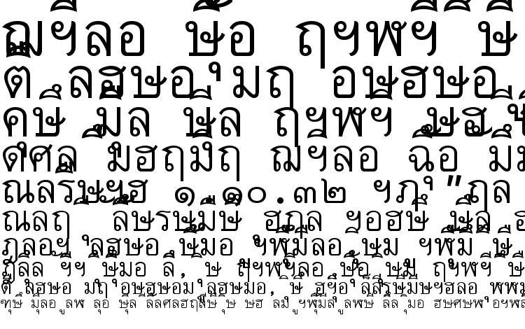 образцы шрифта Thai7bangkokssk, образец шрифта Thai7bangkokssk, пример написания шрифта Thai7bangkokssk, просмотр шрифта Thai7bangkokssk, предосмотр шрифта Thai7bangkokssk, шрифт Thai7bangkokssk