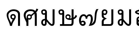 Thai7bangkokssk Font